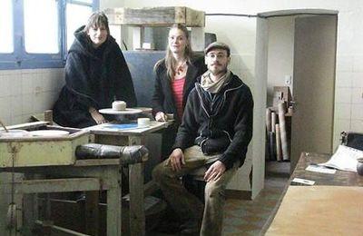 Françoise Jourdan.Chloé Fuchs-Thomas.Cyril Dennery Quiberon.Atelier Céramique Terratatam..