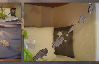Guirlandes étoiles ou moutons