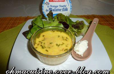 Petits flans de thon au fromage fouetté de Madame Loïc