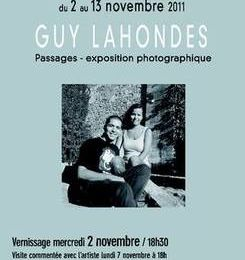 Exposition photos Guy LAHONDES