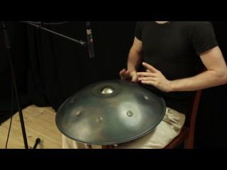 David Kuckhermann sur le Hang drum...