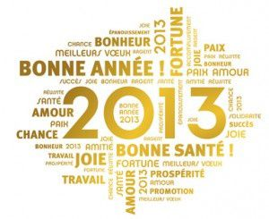 1er Janvier 2013 .............
