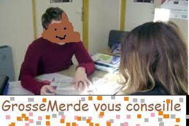 Les fiches Métiers de GrosseMerde.