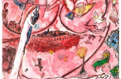 Le Cantique des Cantiques III, vu par Chagall.