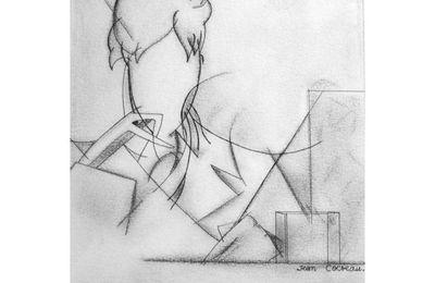 Autoportrait sans visage, Jean Cocteau.