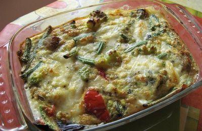 Tortilla express aux légumes surgelés Bonduelle