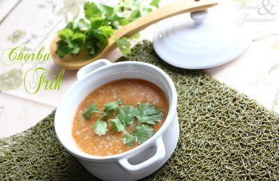 Chorba Frik (soupe à la semoule d'orge)