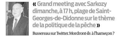 Des infos glanées dans la presse... (Saint-Georges-de-Didonne 31.03.2012)
