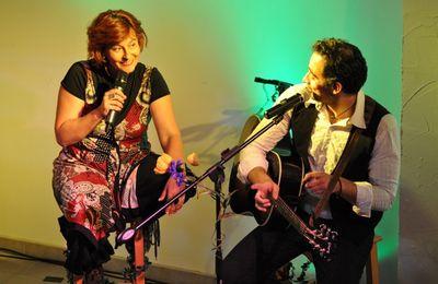 Deux concerts au Caveau de l'Abbaye vendredi 27 avril 2012 (Saint-Jean-d'Angély)