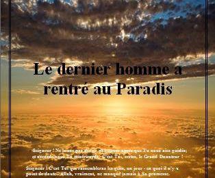 Télécharger : Le dernier homme a rentré au Paradis… [Pdf, word, doc]
