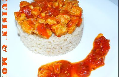 CURRY DE DINDE A LA TOMATE