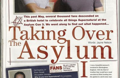 Taking over the asylum (supernatural magazine 12)