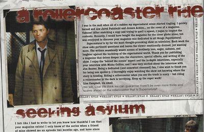 Return to sender (supernatural magazine 12)