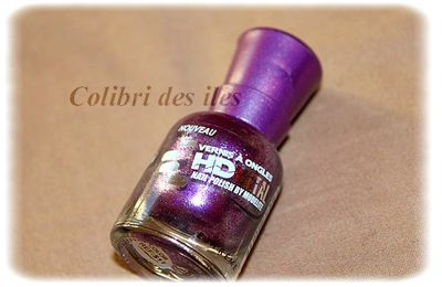 Swatch HD METAL violet !