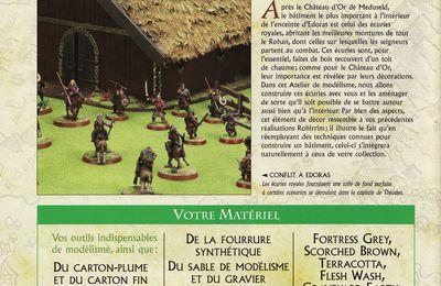 Seigneurs des anneaux écurie du Rohan
