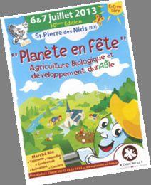 Planète en fête à Saint-Pierre-des-Nids les 6 et 7 juilllet 2013