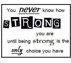 Sens de la force - Strong you are