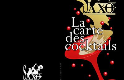 "CARTE TARIFS BOISSONS - BAR ""LE SAXO"""
