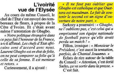 Sarkozy doit etre jugé par le TPI !