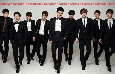 Kpop : Super Junior ~~