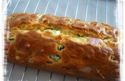 Cake jambon courgettes