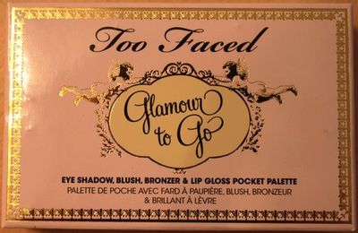 Nouvelle palette Glamour to go - Too faced