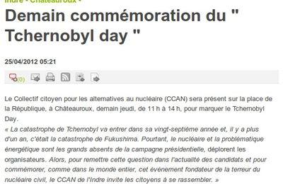 Article NR Tchernobyl Day