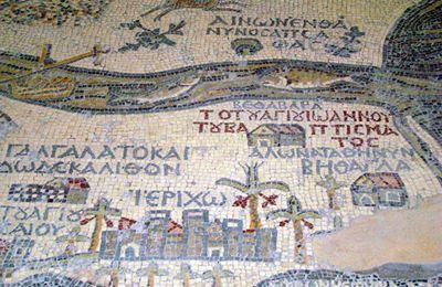 Pourquoi la mosaïque de Madaba en Jordanie est elle célèbre ?