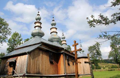 Photos des plus belles églises de bois de Pologne - Turzansk