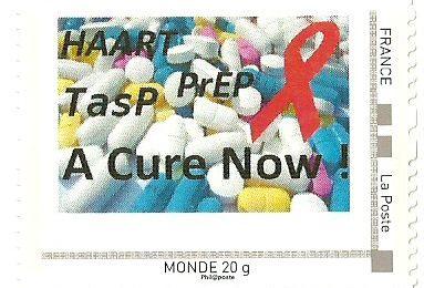Timbres Personnalisé : A cure Now - 2013