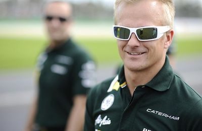 Kovalainen Handed Five Grid Spot Penalty for Malaysia