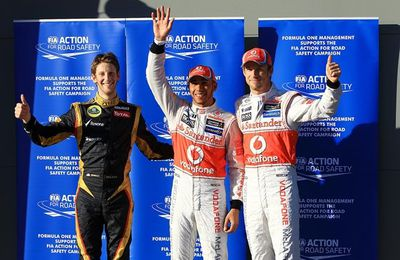 Qualifying: Hamilton Takes First 2012 Pole Ahead of Button