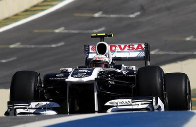 Maldonado Retains his Williams Drive for 2012