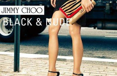 Jimmy choo nude & black