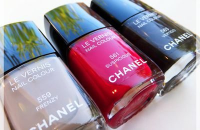 . Vernis Chanel ~ Fall 2012