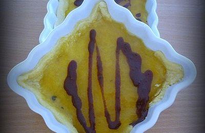 Tartelette au lemon curd et chocolat