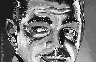 Clark Gable, portrait.