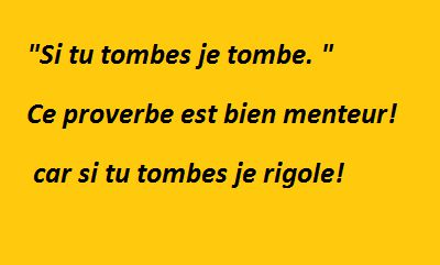 note d'humour
