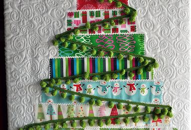 Tuto quilted tree