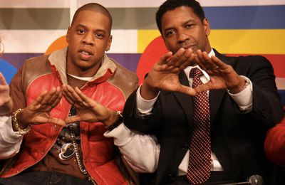 Jay Z & Denzel Washington - signe des mains ▲