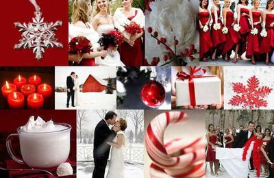 Various Ideas of Holly and Greenery for Christmas Wedding