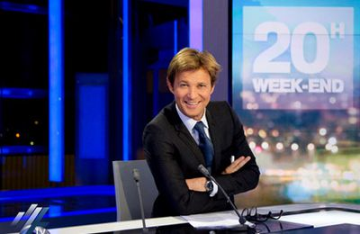 Laurent Delahousse performant ce week-end, Claire Chazal reste en tête