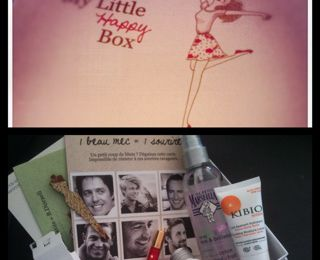 "Ma premiere ""my little box"""