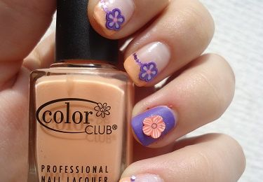 "156° Nail art ""French et fimo"""