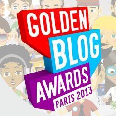 Votez pour les Golden Blog Awards 2013