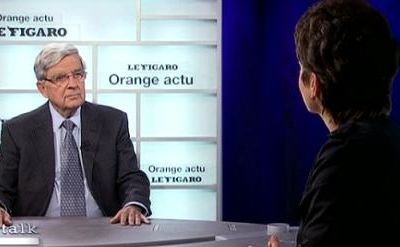 Jean-Pierre Chevènement, invité du Talk Orange - Le Figaro
