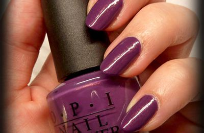 OPI dutch ya just love opi + Silvershape LM