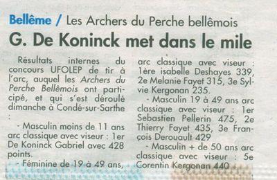 """Lu dans """"Le Perche"""" du 30 novembre 2011"""