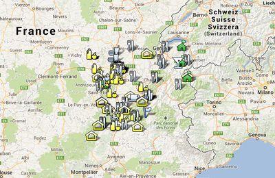 Projet de VG-carte en Rhône-Alpes