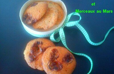 Cookies aux noisettes et Mars